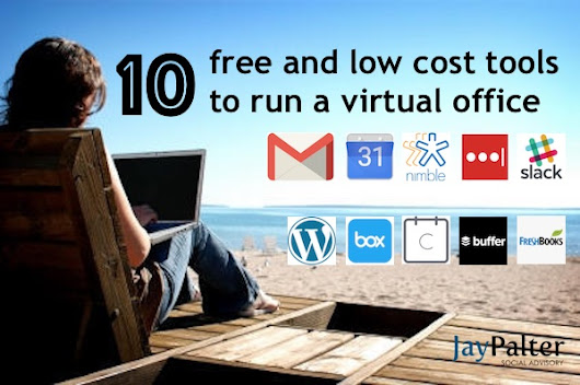 10 mostly free tools I use to run my virtual office -