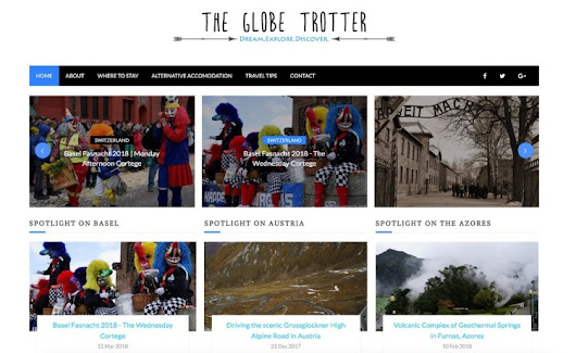 #travel #blog The Globe Trotter | everywhs.com