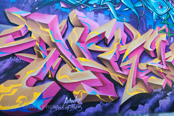 Street art, Improv Alley