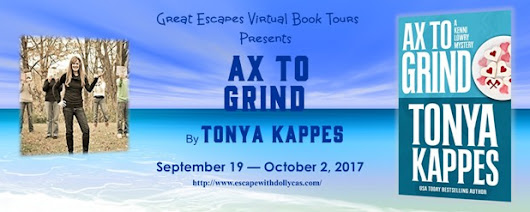 Ax to Grind by Tonya Kappes - Spotlight + Giveaway - Brooke Blogs