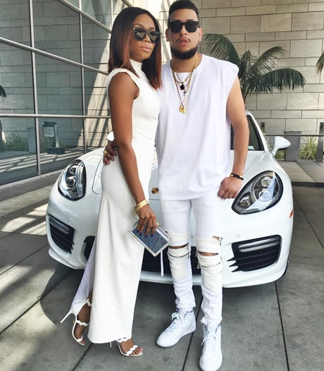 Video(s) - See What AKA and His Lover, Bonang Matheba Were Doing Alone on a Plane