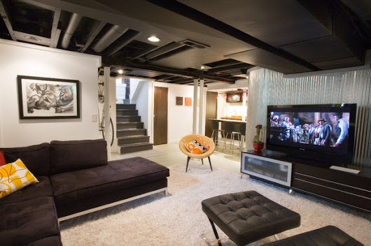 Budget Basements: Ideas for Partially Finishing Your Lower Level