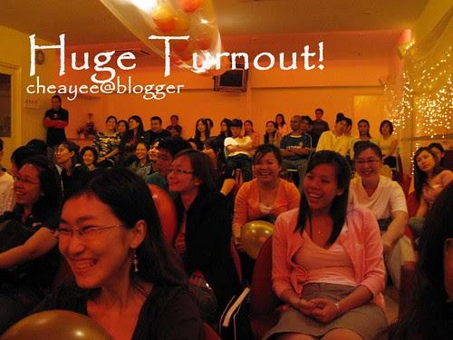 huge turnout