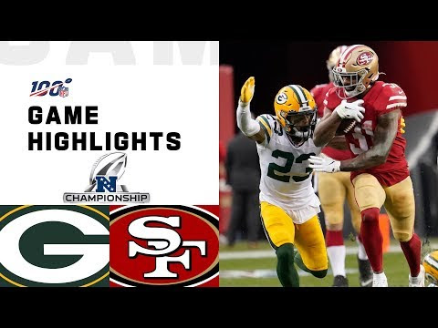 Packers vs. 49ers NFC Championship Highlights | NFL 2019