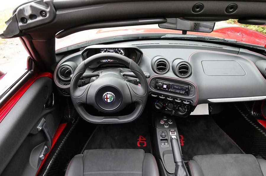2015 Alfa Romeo 4C Spider review review | Autocar