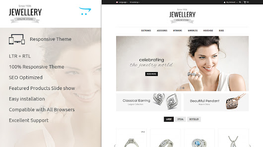 Jewellery Opencart Theme - w3design.mobi