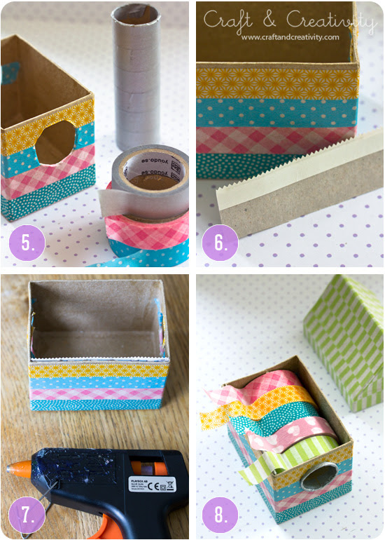 Washi tape dispenser - by Craft & Creativity