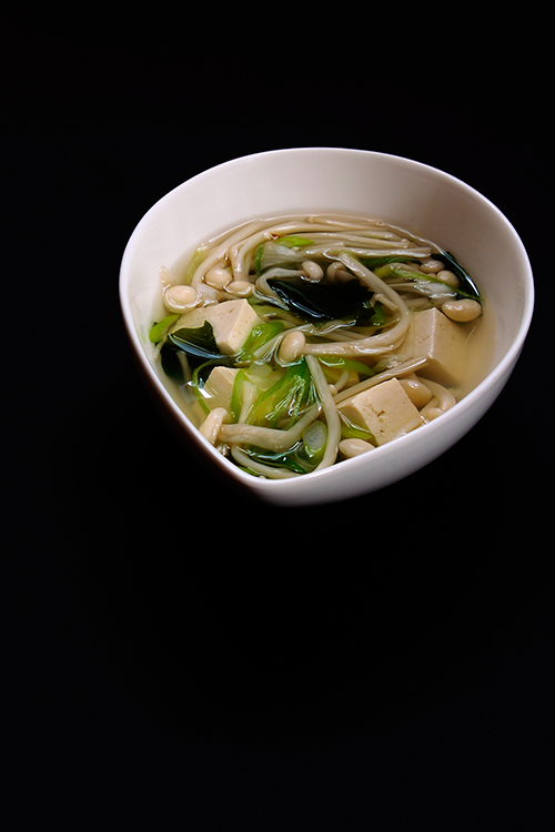 Dashi Broth with Enoki© by Haalo