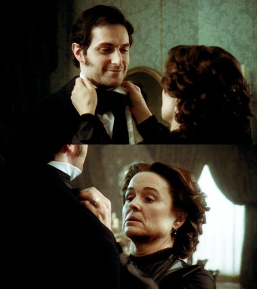 John and his mother. I love their strong mother-and-son relationship <3