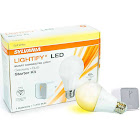 Sylvania Lightify LED Smart Connection Light Gateway and A19 Bulb Kit (10 Pack)