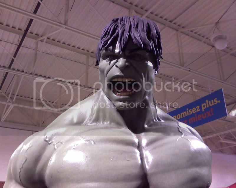 Hulk Maquete
