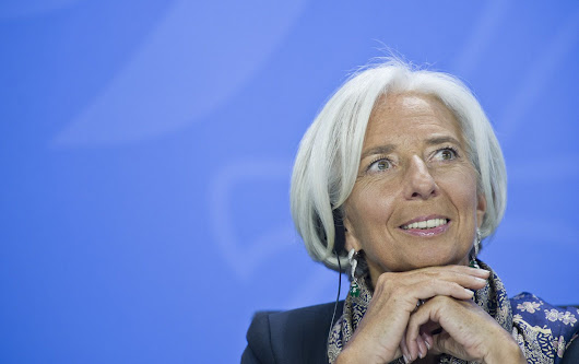 Who Knew Christine Lagarde Was So Funny?