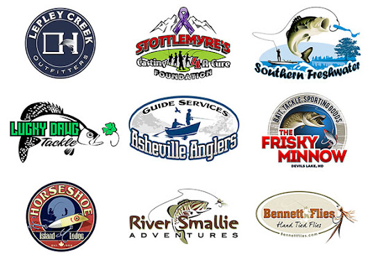 30 Awesome Fishing Logos Designed by 3plains