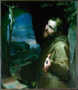 São Francisco - Federico Barocci, séc. XVII. The Metropolitan Museum of Art, Nova York.