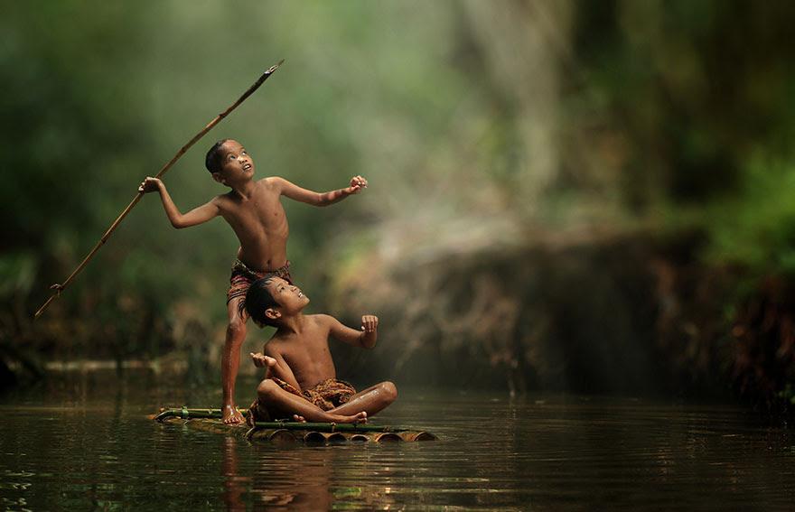 Foto Kehidupan Sehari-hari di Pedesaan 5