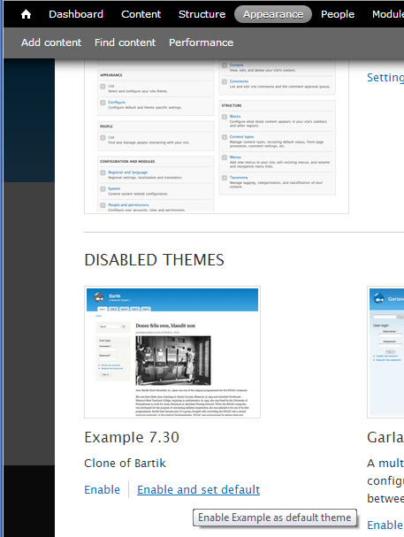 How to clone Drupal Bartik Theme | Learn Web Tutorials