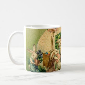 Vintage Easter Egg Delivery Mug