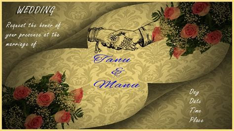 How to Design a Wedding Invitation Card in Photoshop