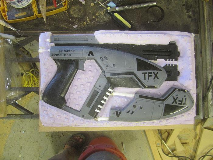 M-3 Pistol Mold Second Half2461