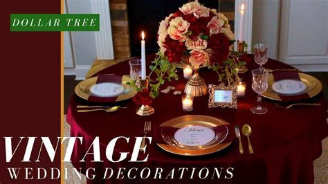 Vintage Wedding Ideas   Fall Wedding Decorations Ideas
