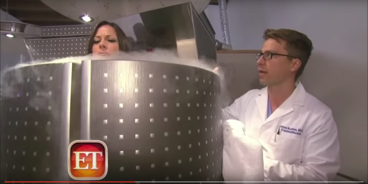 One of the ways he splurges on his own body is by using a controversial cryotherapy chamber, which exposes the body to temperatures of -150 to -290 degrees Fahrenheit, to relieve pain and enhance muscle recovery.
