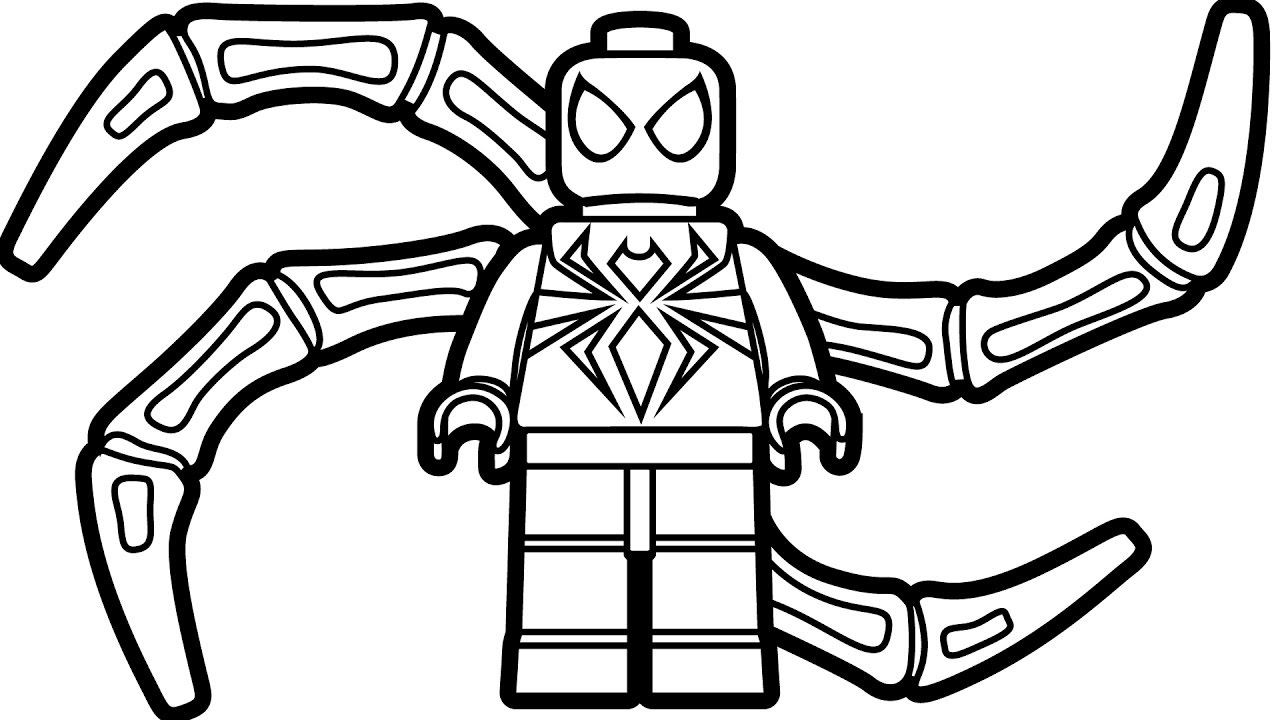 Spiderman Coloring Pages Online at GetDrawings | Free download