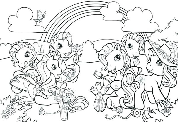 My Little Pony Coloring Pages Games at GetDrawings | Free ...