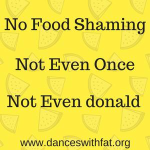 No Food Shaming