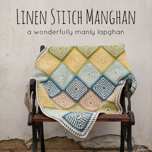 Linen Stitch Manghan Pattern – Look At What I Made