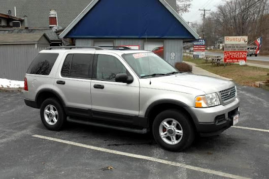 Used 2003 Ford Explorer for Sale in Red Hook NY 12571 Hudson Valley Motorcar
