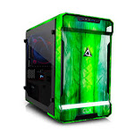 Cybertron CLX Scarab Small Form Factor Custom Gaming PC - Intel Core i7 9700K 3.70GHz, RTX 2080 8GB Graphics, 16GB DDR4-2666MHz, 480GB SSD , 1TB HDD,