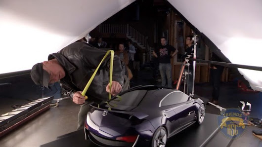 Watch: How to Light a Car Commercial