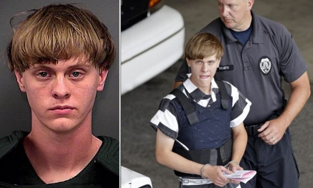 Charleston shooter Dylann Roof 'CONFESSES to shooting dead nine'