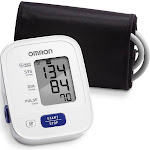 Omron 3-Series Upper Arm Blood Pressure Monitor - White