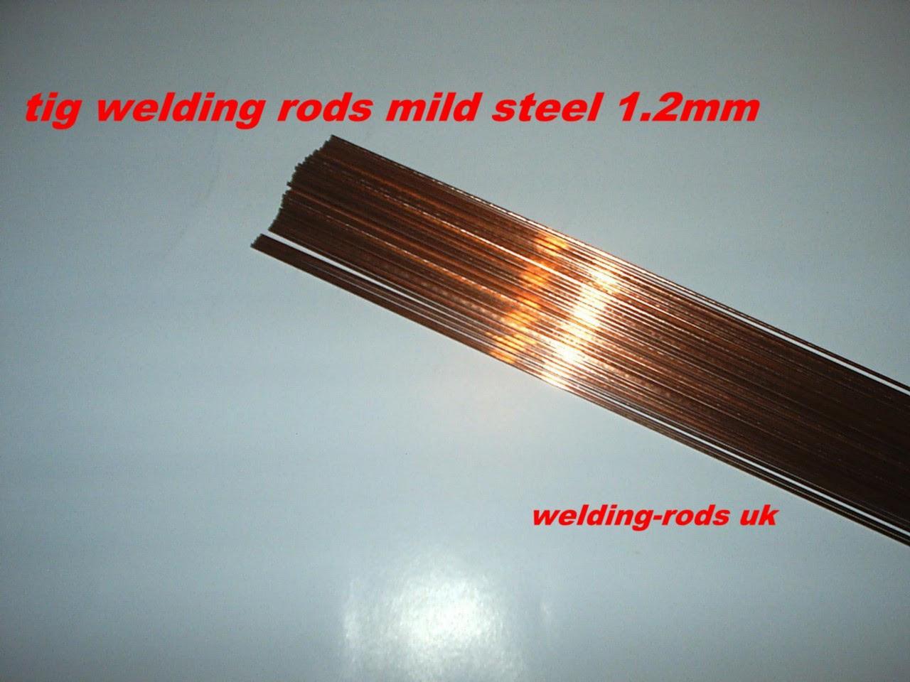 20 x tig welding rods 1.2mm mild steel