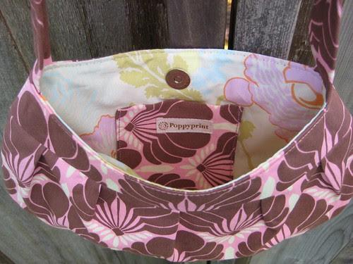 buttercup bag interior