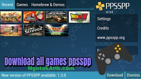 Games Ppsspp Ukuran Kecil Android