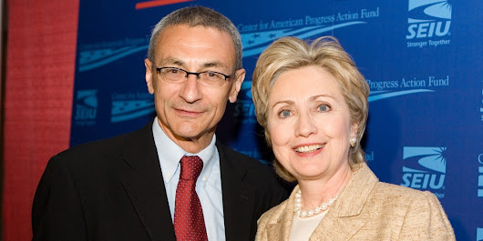 John Podesta in a frenzy converting $40B Clinton Foundation assets into gold, diamonds & artwork
