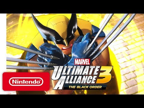 MARVEL ULTIMATE ALLIANCE 3: THE BLACK ORDER Vem Exclusivamente para Mudar