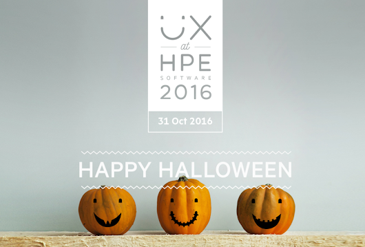 4th annual UX at HPE is just around the corner. Get your seat now!