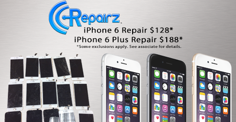 iPhone 6 Repair Spring Sale from CCRepairz