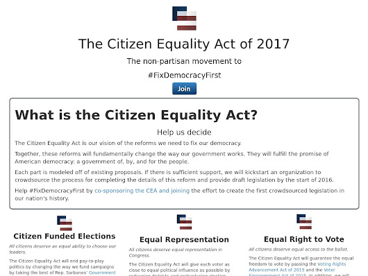 The Citizen Equality Act of 2017