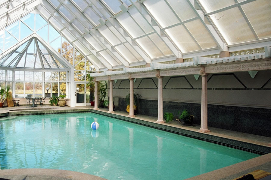 Indoor Pool And Spa Little Silver New Jersey Residential Pool