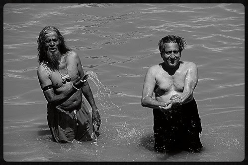 I Take A Dip In The River At Makhanpur by firoze shakir photographerno1