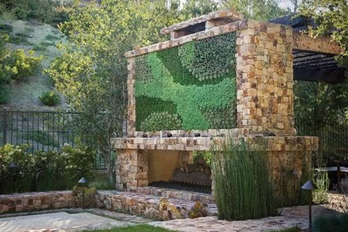 Unique Outdoor Fireplace Designs - Landscaping Network