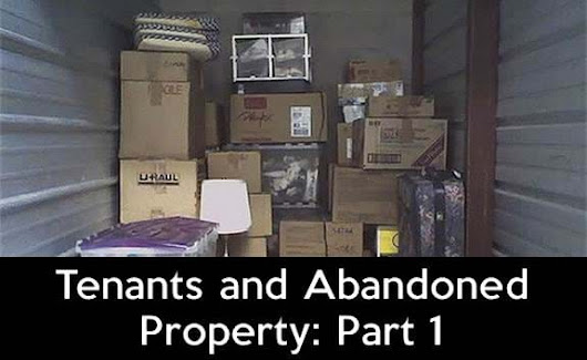 Tenants and Abandoned Property: Part 1 | RentPrep