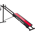 Total Gym 1100 Home Fitness Gym for Toning and Strengthening with Workout DVD - Black