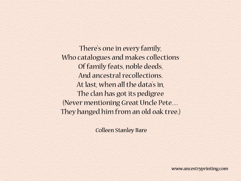 Family Poems Poems for