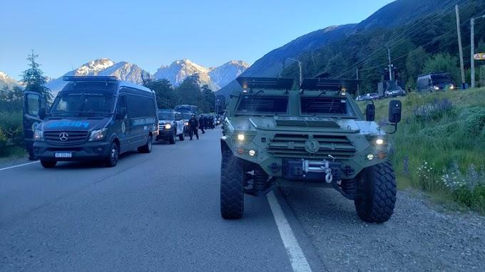 Tras el pedido de Río Negro, el Gobierno enviará efectivos de Gendarmería a El Bolsón