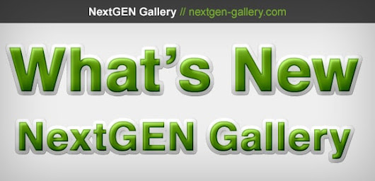NextGEN Gallery 2.0.63 Now Available